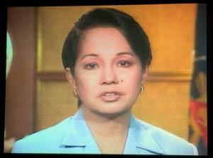 "Photo taken during Arroyo's infamous ""I Am Sorry"" speech - June 27, 2005"