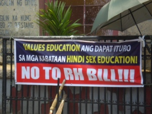 no to RH bill
