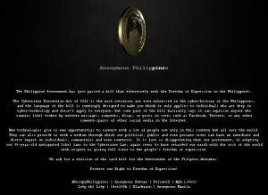 Anonymous Philippines Hackers
