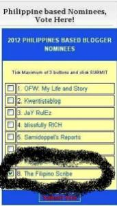 2012 pinoy expat ofw blog awards