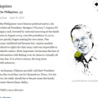 Noynoy Aquino in Time 100 most influential list - AND SO?