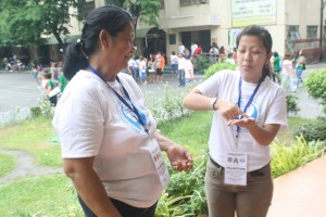 PWD volunteer