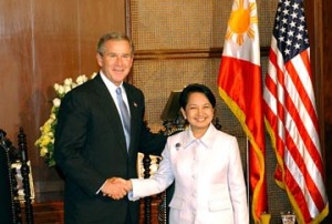 George W Bush - Gloria Arroyo