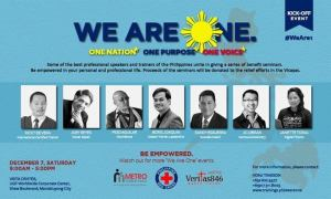 we are one seminar